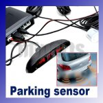 4 Sensors System 12v LED Display Indicator Parking Car Reverse Radar Kit-1689#