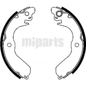 proton brake shoe set fn6712 pc351603 pc351601 mb858686