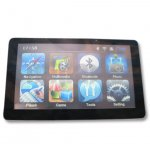 7 inch GPS navigation, DDR 128 MB, Bluetooth + AV IN + FM, MTK solution, 468 MHz, CE 5, free shipping-2GB without wall charger